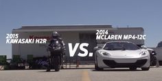The production bike that is faster than a Bugatti Veyron and a McLaren MP4-12C #kawasaki