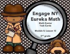 Engage NY Eureka Math Module 5 : Lesson 13  Math Center - (scheduled via http://www.tailwindapp.com?utm_source=pinterest&utm_medium=twpin&utm_content=post16685870&utm_campaign=scheduler_attribution)
