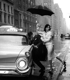With Fabian Malloy, New York, 1958