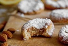 Biscuits Croquants aux Amandes et Citron au Thermomix Dessert Ig Bas, Thermomix Desserts, Fodmap, Chorizo, Entrees, Sweet Tooth, Deserts, Stuffed Mushrooms, Cooking Recipes