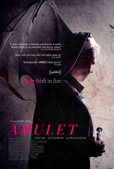Carla Juri & Alec Secareanu in First Trailer for Sinister Horror 'Amulet' | FirstShowing.net Hd Movies, Horror Movies, Horror Film, Romola Garai, Ghost Of Tsushima, The Rifleman, The Shawshank Redemption, Best Movie Posters, Sundance Film
