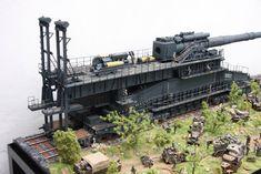 Eisenbahngeschütz Dora 1:35