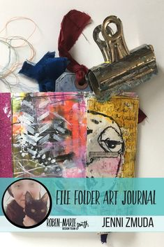 Design Team member Jenni Zmuda is sharing with us how she made her her quirky file folder art journal. Follow along with her video tutorial as she creates this beautiful and unique art journal. She uses  Art Pops™ and Paperbag Studios Stamps to create this gorgeous journal! @robenmarie @artgirlcreations78 #robenmarie #robenmariedesignteam #paperbagstudios #artpops #mixedmedia #diy…