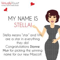 http://www.virtuallyyours.com.au  VYVA has a new mascot with a new name!
