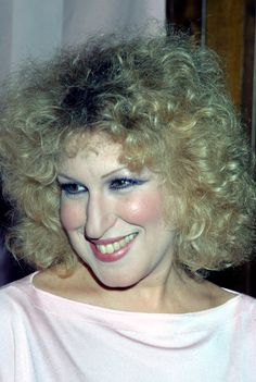 Bette Midler is one of those rare actresses who everyone loves so much that even when you're not sure about her hairstyle, you say, Bette Midler, Lady M, Popular People, Hair Photo, Big Hair, Celebrity Photos, Pretty People, Cool Hairstyles, Actresses
