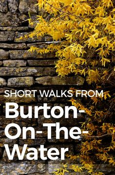 Let's make Burton on the water our hub for a few strolls around the area for one day or many! An easy walk that only takes a few hours is the stroll from Bourton-on-the-Water to the nearby villages of Upper and Lower Slaughter.