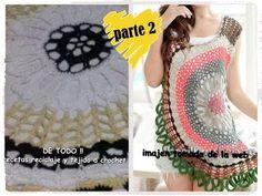 Crochet Tunic, Freeform Crochet, Crochet Granny, Crochet Clothes, Knit Crochet, Crochet Hats, Sweaters For Women, Men Sweater, Crochet Girls