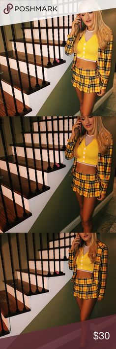 Clue less Cher costume for hallowen! Dressed up as cher for clueless, if anyone of you guys are trying to pick up w a Halloween outfit this Thursday let me know yandy Other