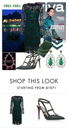 """""""MEGHNA JEWELS 07"""" by irinavsl ❤ liked on Polyvore featuring Dolce&Gabbana, Valentino and Charlotte Olympia"""