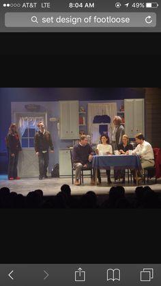 Footloose set design Stage Set Design, Set Design Theatre, Footloose Musical, Staging, Musicals, Recipes, Ideas, Role Play