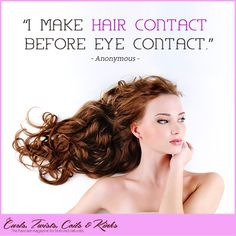 Life is too short to have boring hair.  #Beauty #Hair #BearlyMarketing