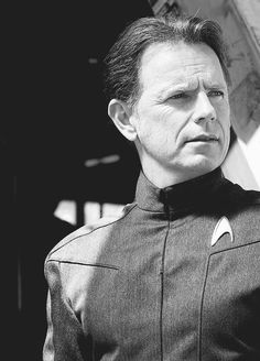 Admiral Pike. Love this guy. I want them to bring him back!!