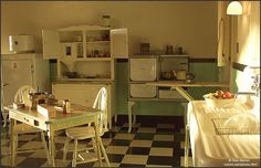 Kitchen Late in the Day by nomm de photo, via Flickr