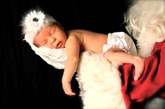 Christmas Newborn Picture