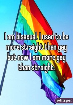 I am bisexual. I used to be more straight than gay but now I am more gay than straight. I am bisexual. I used to be more straight than gay but now I am more gay than straight. Lgbt Quotes, Lgbt Memes, Mary Shelley, Pearl Harbor, Teacher Appreciation, Karaoke, Memorial Day, Karma, Brave