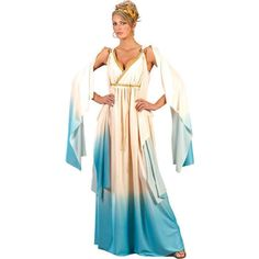 Extra Plus Size Halloween Costumes | Greek Goddess Plus Size Costume