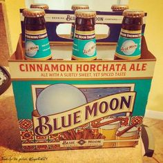 Blue Moon's Cinnamon Horchata Ale. This is sooooooooooooooooo yummy
