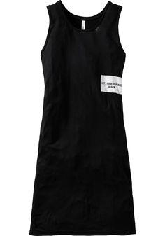 sheego Casual Longtop - schwarz   Damenmode online kaufen