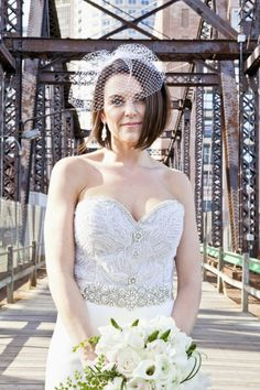 Art Lover's Boston Wedding from Kristin Spencer. - wedding hairstyles