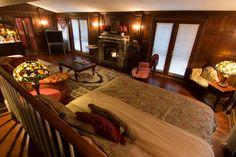 The Castle Suite at Pilot Knob Inn of Pinnacle, NC.  Pilot Knob Inn is a proud member of the North Carolina Bed and Breakfast Inns (NCBBI) Association. http://www.ncbbi.org/