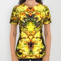 All Over Print Shirt featuring Autumn Fall Gold by LesImagesdeJon