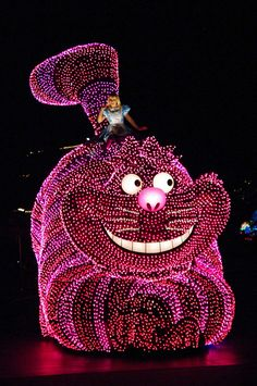 California adventure electric light parade! I so remember seeing this parade when I was three! I thought it was the coolest thing ever!