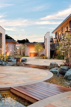 Bardessono - Yountville, California - The hotel's modern, sustainable design is meant to age and change with time.