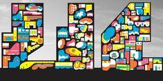 Cartoonish Metropolis - Courtesy Jimenez Lai