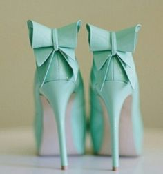 The cutest mint #heels ever!
