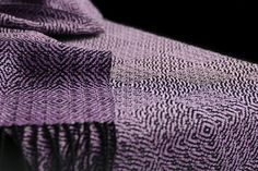 This handwoven scarf was designed by a Weaving Today member.