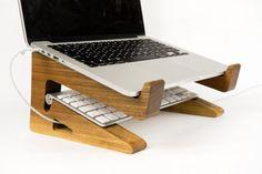 Portable Holz Laptop Ständer hölzerne Laptop von WaldenGoods