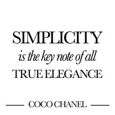 Keep it Simple - Minimalistic Tips | The Black Feather - Blog Mode ...