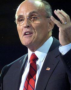 Rudy Guiliani.  Former Mayor of New York, lawyer, businessman