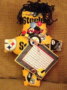 Steelers Dammit Doll - Laurie's DDoLLs