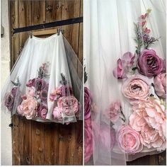 19 Trendy Ideas For Flowers Girl Ideas Tulle Skirts Diy Fashion, Ideias Fashion, Fashion Dresses, Fashion Design, Fashion Shirts, Fashion 2018, Spring Fashion, Virtual Fashion, Fashion Kids