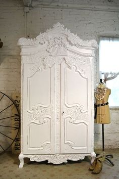 Painted Cottage Chic Shabby Romantic French by paintedcottages #shabbychicdressersvintage