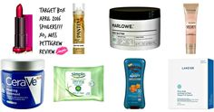 {April Target Beauty Box Goodies}