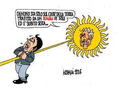 Rottamati alla riscossa... #IoSeguoItalianComics #Satira #Politica #Comics #Humor #Italy #Renzi #Raggi #Sole #D'alema #Quasimodo