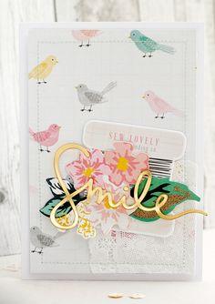 mojosanti : Cards I Main Kit + Bits & Pieces Kit I Gossamer Blue Gallery Projects