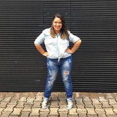 All jeans! 👖 #lookdodia #ootd #lookdadaphne #fashion #moda #jeans #totaljeans #alljeans #fashionblogger #blogueirademoda #fashionblog #blogdemoda #outfitoftheday #lookdavidareal #everyday #pucrs #primark #renner #blogueira #blogger #trend #tendencia #modismos #blog #lifeasdaphne