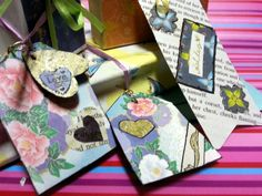 DIY: Recycled Book Page Gift Tags