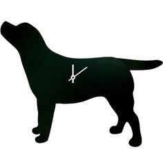wagging tail dog clock via Handpicked Collection