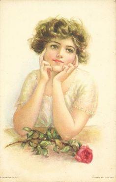 vintage women | Vintage Images: Alice Luella Fidler postcards
