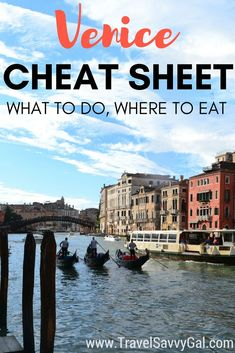 Top recommendations from an expat living in Italy for what to see and do where to eat in Venice Includes details on churches and attractions off of the beaten path to av. European Vacation, Italy Vacation, European Travel, Vacation Destinations, Italy Trip, Italy Tours, Places To Travel, Places To Visit, Gondola