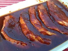 Webber BBQ pork marinade - the best!  www.yumdimsum.me
