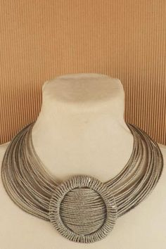 MT Necklaces Linen ~ Colares em fio de linho: COLARES DE OUTROS AUTORES