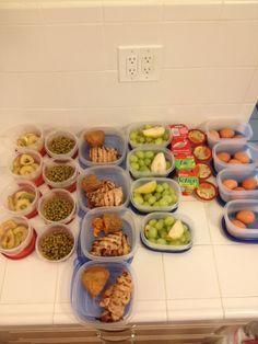 .: Sunday Night Food Prep - running blog... | alouao.com