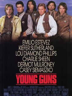 Poster do filme Young Guns