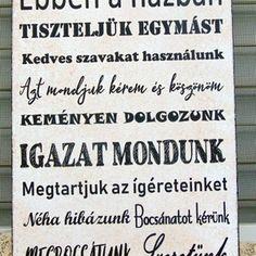 'Ebben a házban.. Signs, Shop Signs, Sign