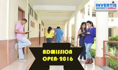 Be a Part of the best emerging University of North India.... #JoinINVERTIS #Bareilly  #AdmissionOPEN